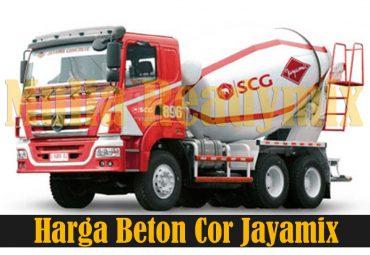 Harga Beton Cor Jayamix