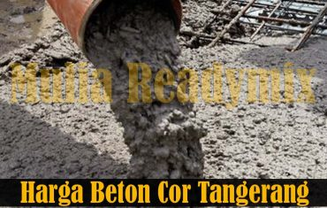 Harga Beton Cor Tangerang