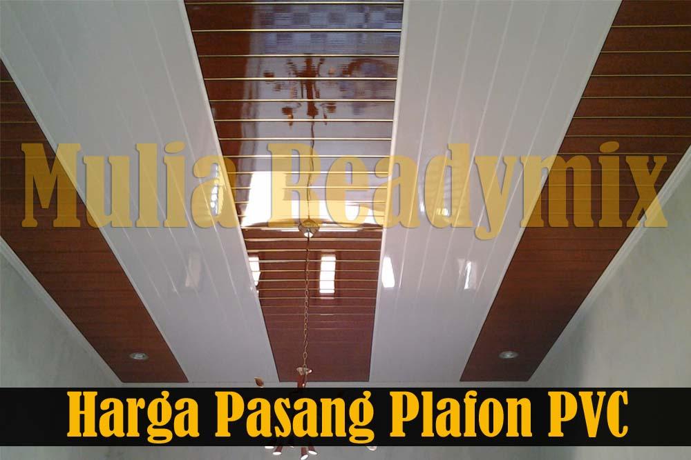 Harga Pasang Plafon PVC Per Meter Murah Mulai 150 Ribuan