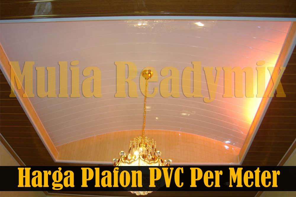 Harga Plafon Pvc Per Meter 2018 Murah Terjamin Standar Sni
