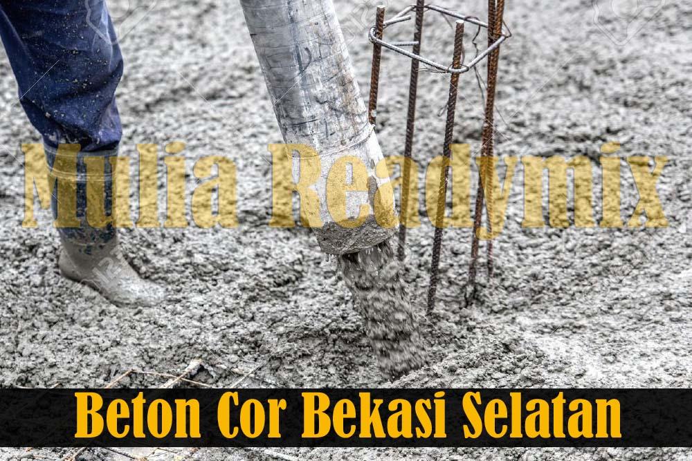 Harga Beton Cor Readymix Bekasi Selatan
