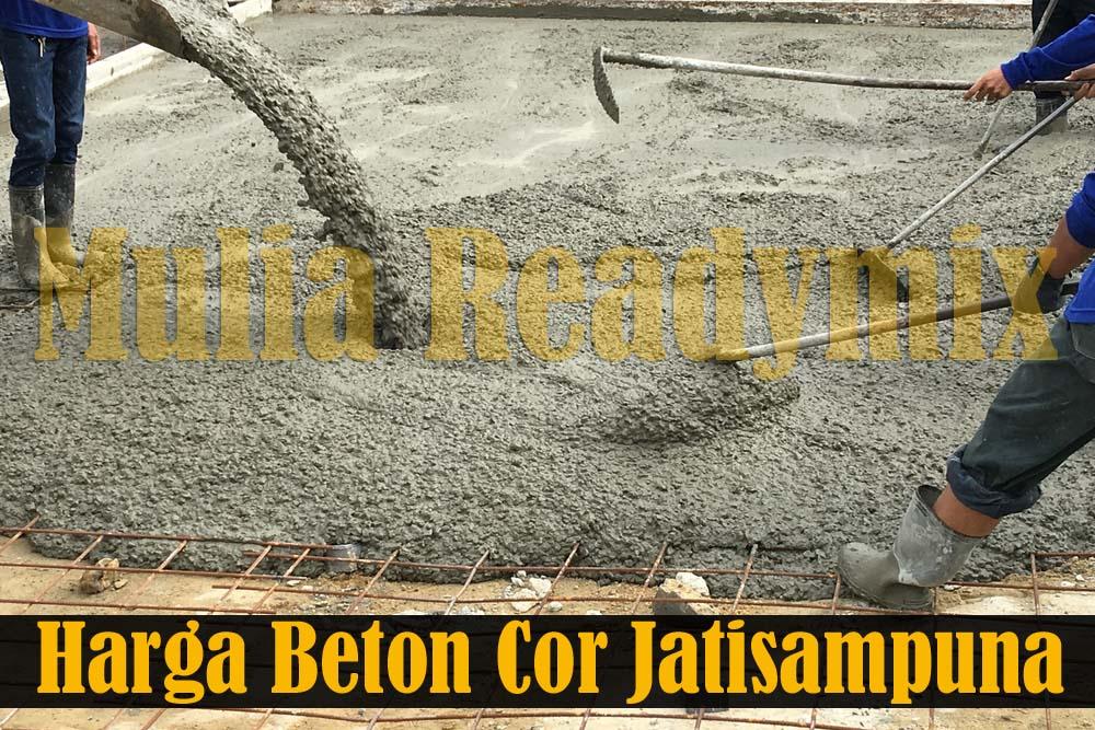 Harga Beton Cor Readymix Jatisampurna