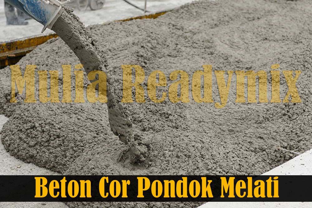 Harga Beton Cor Readymix Pondok Melati
